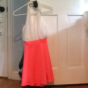 Halter style Charlotte Russe dress